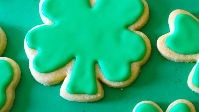Mommy N Me Shamrock Cookies – $35