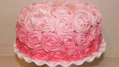 Spring Rose Cake Workshop $69
