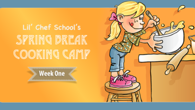 Spring Break Camp – Week One,  $289