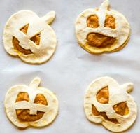 Jack O Lantern Pumpkin Pies