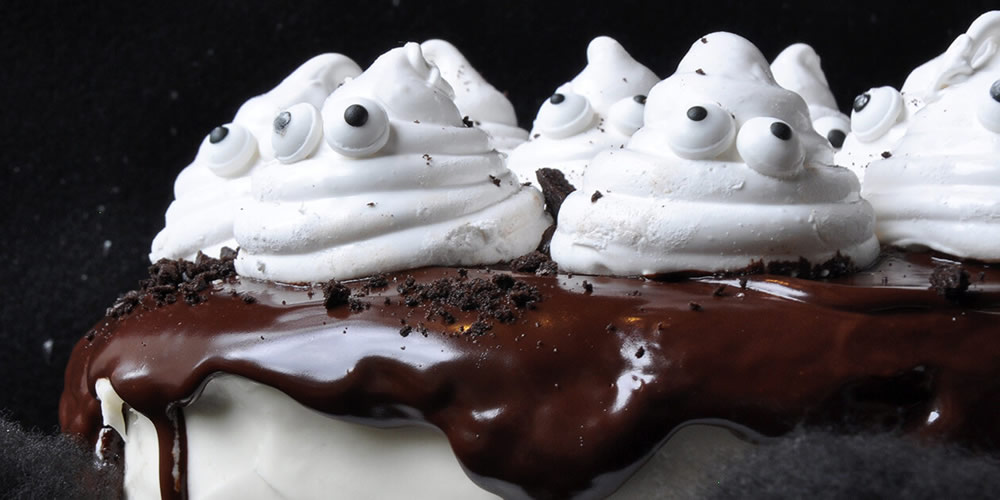 "Crazy for Ghostly Cakes ""Spooky"" Style  Workshop, $49"