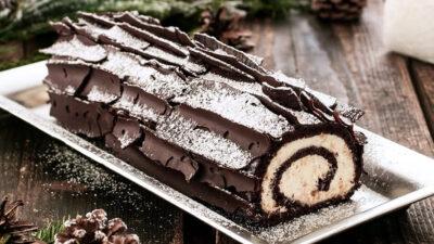 """Baking  """"Buche de Noel"""" (Yule Log Cake) Workshop $49"""